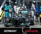 Nico Rosberg - Mercedes - Nürburgring, 2013