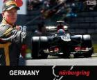 Kimi Räikkönen - Lotus - 2013 German Grand Prix, 2º classified