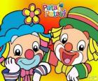 Patati and Patatá, the two clowns are great friends