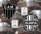 Olimpia Asuncion vs Atlético Mineiro. Copa Libertadores Final 2013