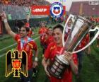 Unión Española, Champion of the Torneo de Transición 2013, Chile