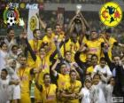 Club America, champion of the tournament Clausura 2013, Mexico