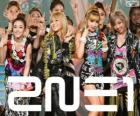 2NE1, South Korean female group