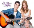Tomás and Violetta