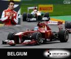 Fernando Alonso - Ferrari - 2013 Belgian Grand Prix, 2º classified