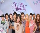 Characters of Violetta