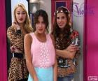 Violetta with Ludmila and Camila