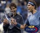 Rafael Nadal 2013 US Open Champion