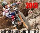 Toni Bou 2013 trial world champion