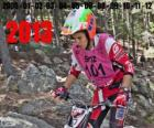 Laia Sanz, champion of the world of trial 2013