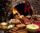 Several dishes for Christmas