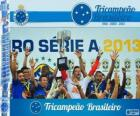 Cruzeiro, champion of the Brazilian football championship in 2013. Brasileirão 2013