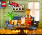 Emmet, the protagonist of the Lego movie