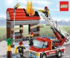 Lego fire emergency