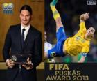 FIFA Puskás Award 2013 for Zlatan Ibrahimovic