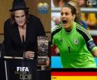 FIFA Women's World Player of the Year 2013 winner Nadine Angerer