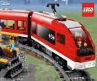A Lego train