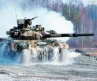 Russian tank T-90S