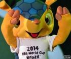 Fuleco, the official mascot of the 2014 FIFA World Cup in Brazil is an armadillo