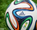Adidas Brazuca, the official ball of the 2014 FIFA World Cup in Brazil