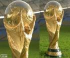 Brazil 2014 World Cup trophy