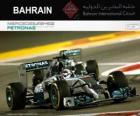 Lewis Hamilton 2014 Bahrain Grand Prix champion