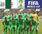 Selection of Algeria, Group H, Brazil 2014