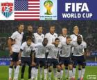 Selection of the United States, Group G, Brazil 2014