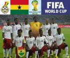 Selection of Ghana, Group G, Brazil 2014