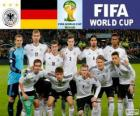 Selection of Germany, Group G, Brazil 2014