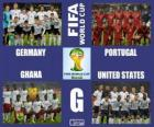 Group G, Brazil 2014