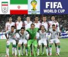 Selection of Iran, Group F, Brazil 2014
