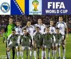 Selection of Bosnia and Herzegovina, Group F, Brazil 2014