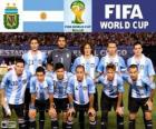Selection of Argentina, Group F, Brazil 2014
