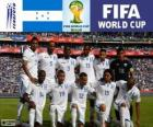 Selection of Honduras, Group E, Brazil 2014