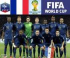 Selection of France, Group E, Brazil 2014