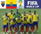 Selection of Ecuador, Group E, Brazil 2014