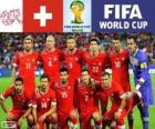 Selection of Switzerland, Group E, Brazil 2014