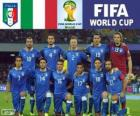 Selection of Italy, Group D, Brazil 2014