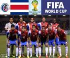 Selection of Costa Rica, Group D, Brazil 2014