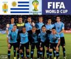 Selection of Uruguay, Group D, Brazil 2014