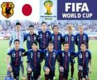 Selection of Japan, Group C, Brazil 2014