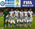 Selection of Greece, Group C, Brazil 2014