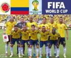 Selection of Colombia, Group C, Brazil 2014
