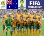 Selection of Australia, Group B, Brazil 2014