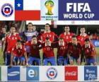 Selection of Chile, Group B, Brazil 2014