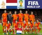 Selection of the Netherlands, Group B, Brazil 2014