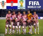 Selection of Croatia, Group A, Brazil 2014