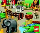 Zoo from Lego