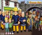 Main characters of fireman Sam